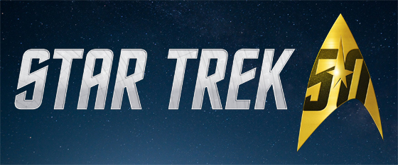 Star Trek 50th Anniversary Logo