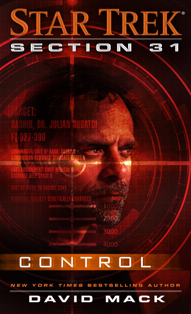 Star Trek - Section 31 - Control - cover image of Julian Bashir