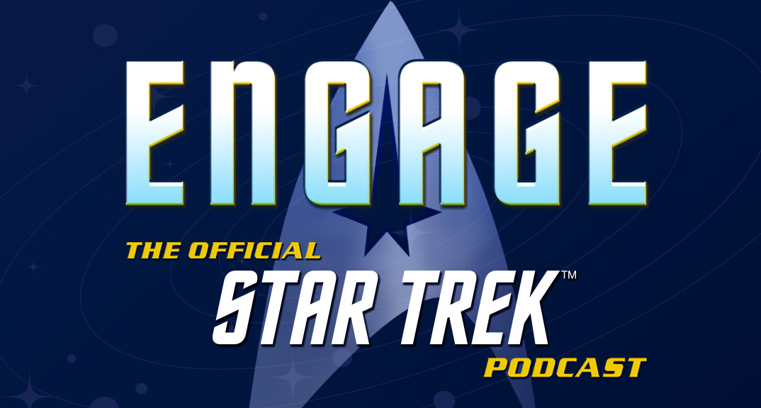 ENGAGE Official Star Trek Podcast Logo - Episode 47